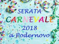 SERATA CARNEVALE 2018